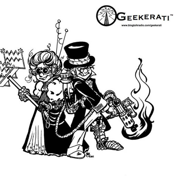 Geekerati  | Blog Talk Radio Feed logo