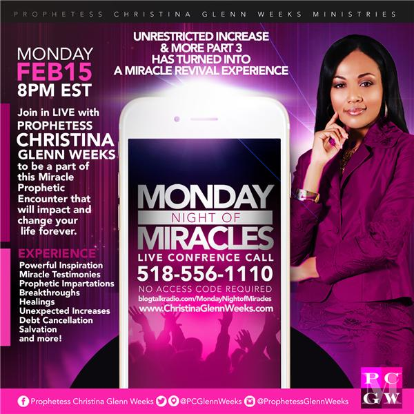 Monday Night Of Miracles