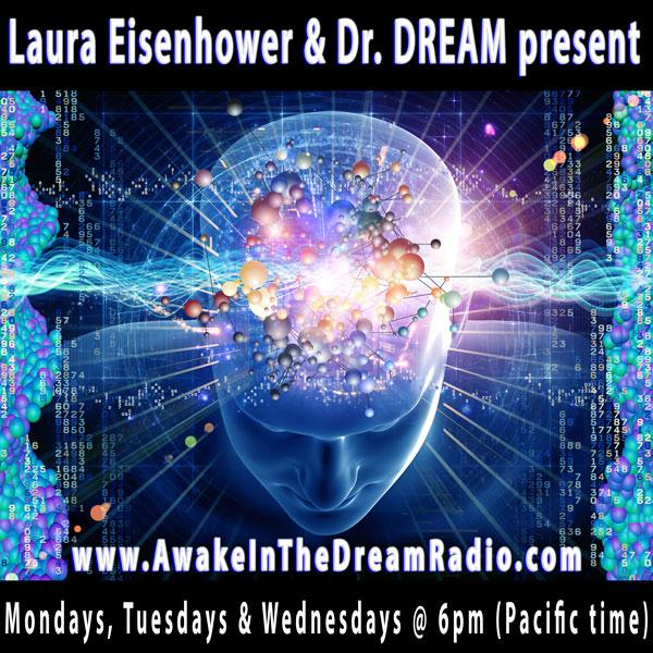 Dr DREAM and Laura Eisenhower