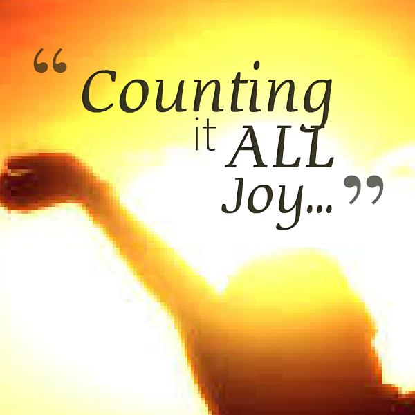 Counting it all joy