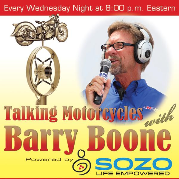 Talking Motorcycles Barry Boone