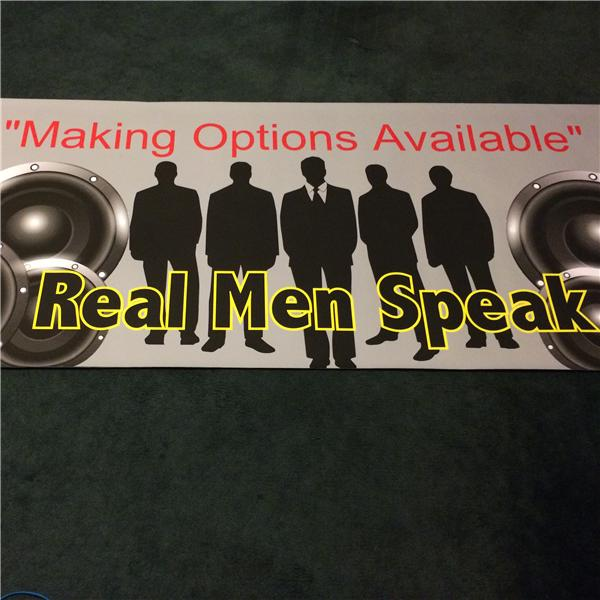 REAL MEN SPEAK