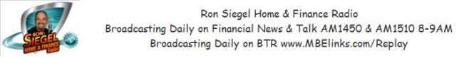 Ron Siegel Home and Finance Radio