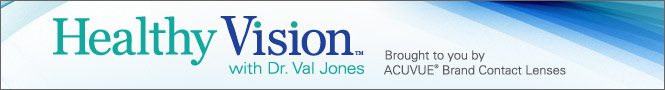 HEALTHY VISION with Dr. Val Jones
