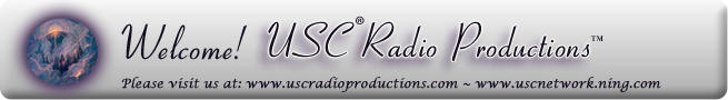 USC® RADIO PRODUCTIONS™ CH THREE