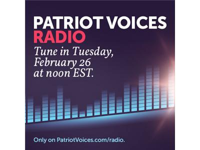 Patriot Voices Radio Feb 26th 12 Noon EST Say No To Chuck